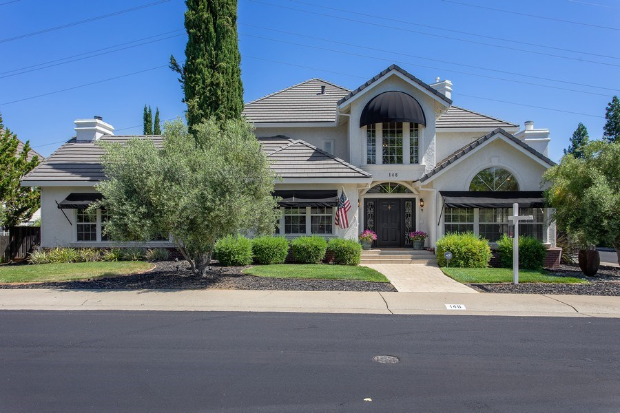 Real Estate Photography - 146 Tomlinson Drive, Folsom, CA, 95630 - Front View