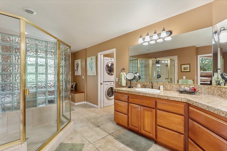 Real Estate Photography - 13485 Moss Rock Drive, Auburn, CA, 95602 - Master Bathroom