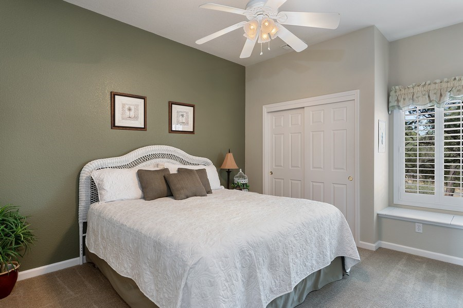 Real Estate Photography - 13485 Moss Rock Drive, Auburn, CA, 95602 - 4th Bedroom