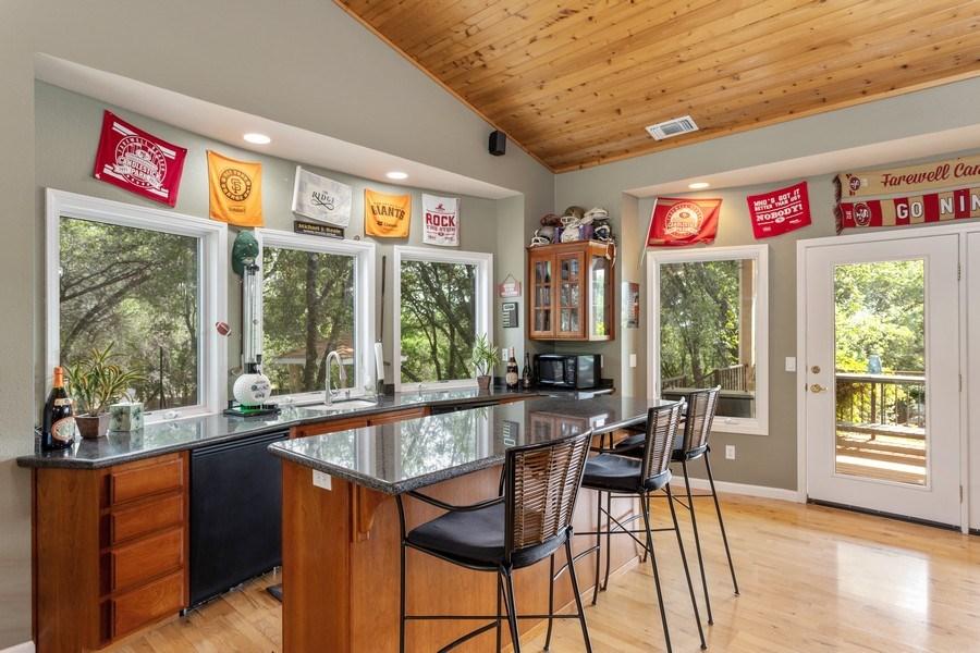Real Estate Photography - 13485 Moss Rock Drive, Auburn, CA, 95602 - Recreational Room