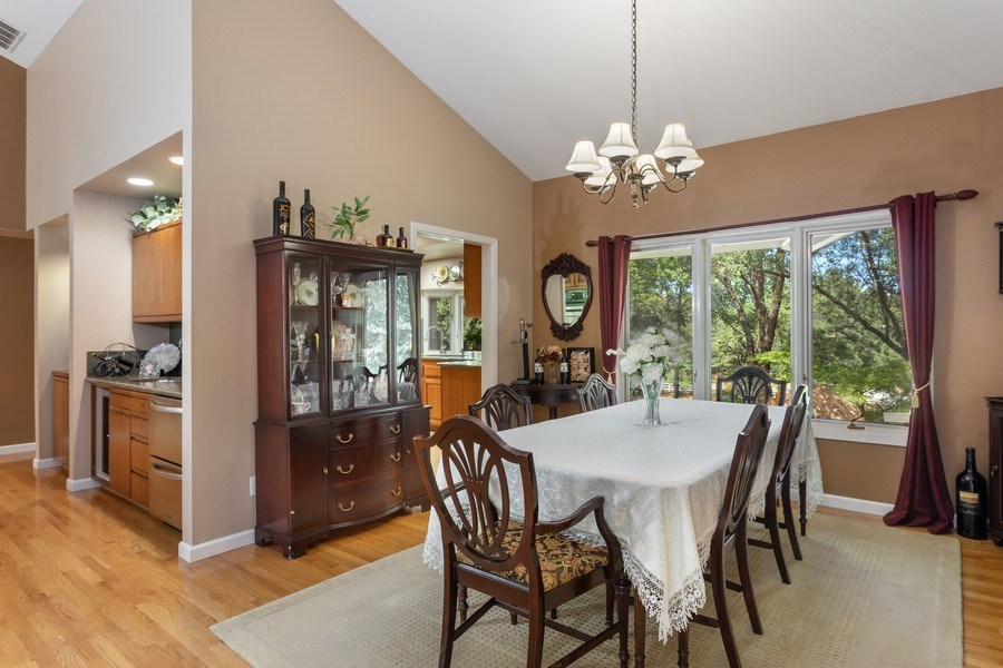 Real Estate Photography - 13485 Moss Rock Drive, Auburn, CA, 95602 - Dining Room