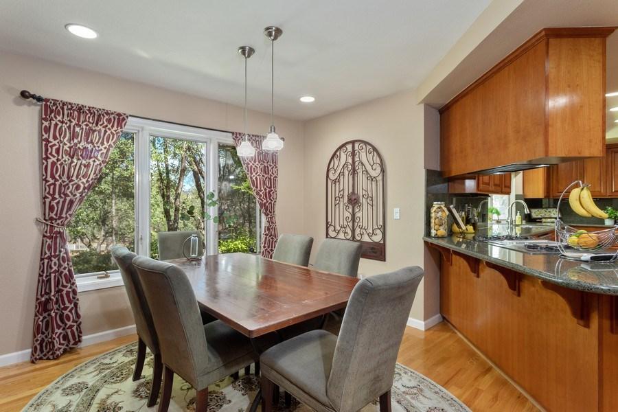 Real Estate Photography - 13485 Moss Rock Drive, Auburn, CA, 95602 - Dining Area