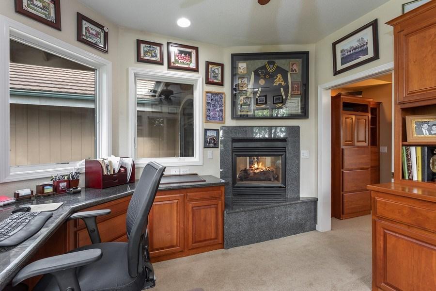 Real Estate Photography - 13485 Moss Rock Drive, Auburn, CA, 95602 - Study