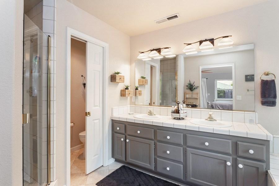 Real Estate Photography - 2639 Emmet Dr., Auburn, CA, 95603 - Master Bathroom