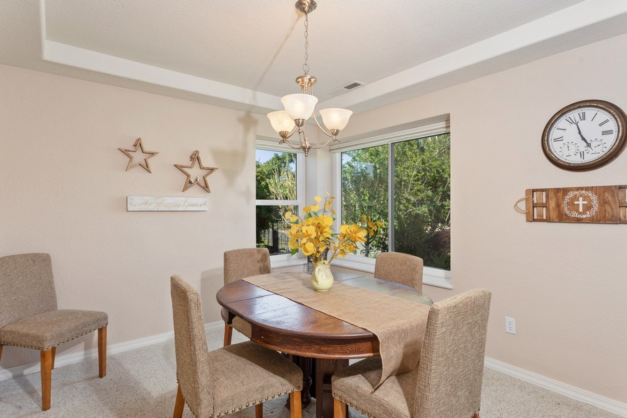 Real Estate Photography - 2639 Emmet Dr., Auburn, CA, 95603 - Dining Room