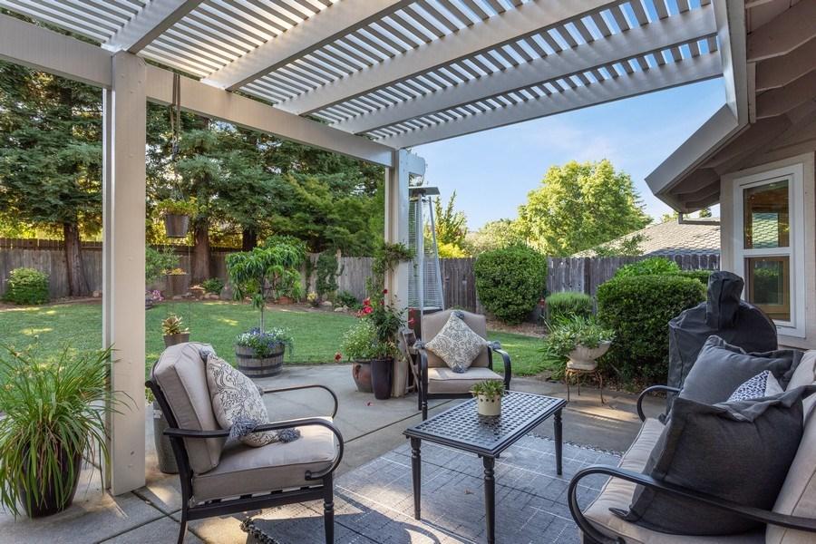 Real Estate Photography - 2639 Emmet Dr., Auburn, CA, 95603 - Patio