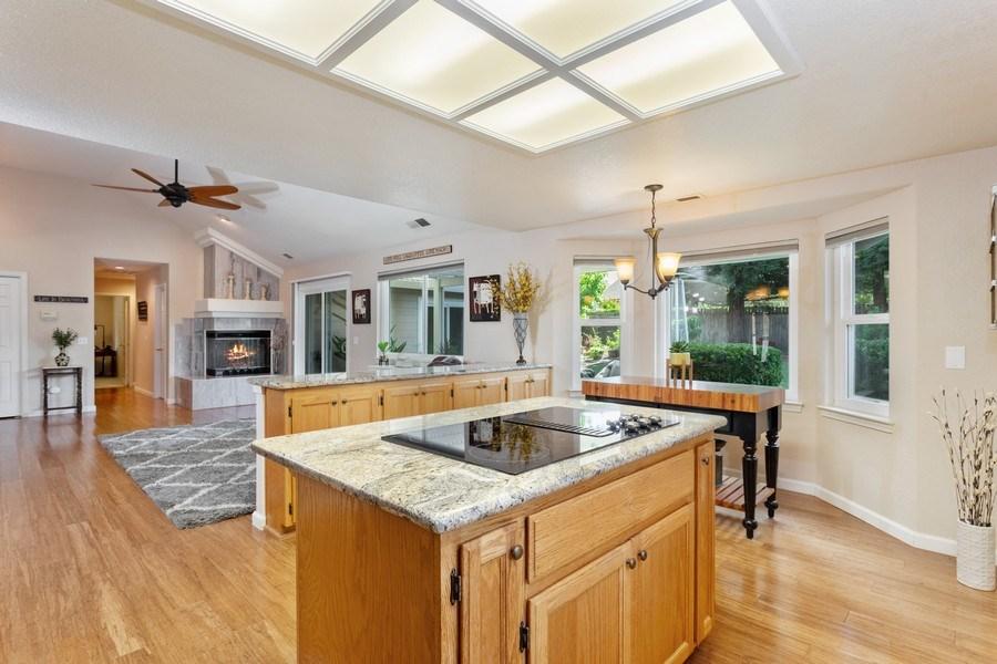 Real Estate Photography - 2639 Emmet Dr., Auburn, CA, 95603 - Family Room / Kitchen
