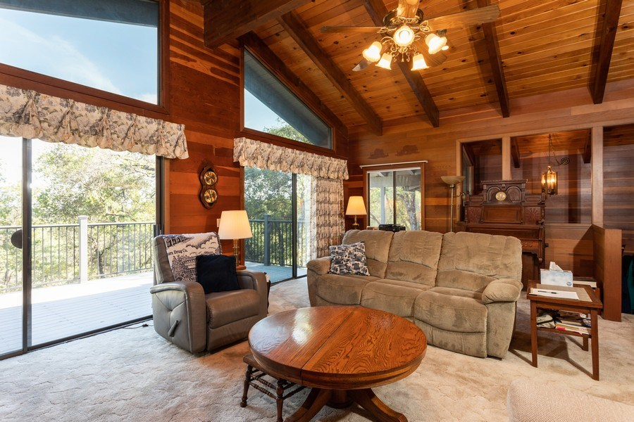 Real Estate Photography - 12521 Incline Drive, Auburn, CA, 95603 - Living Room