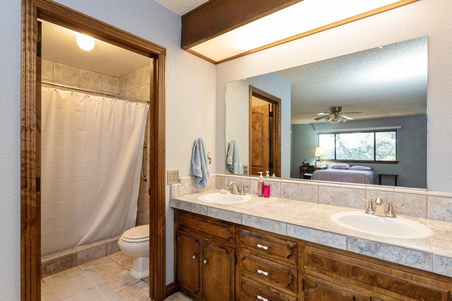 Real Estate Photography - 12521 Incline Drive, Auburn, CA, 95603 - Master Bathroom