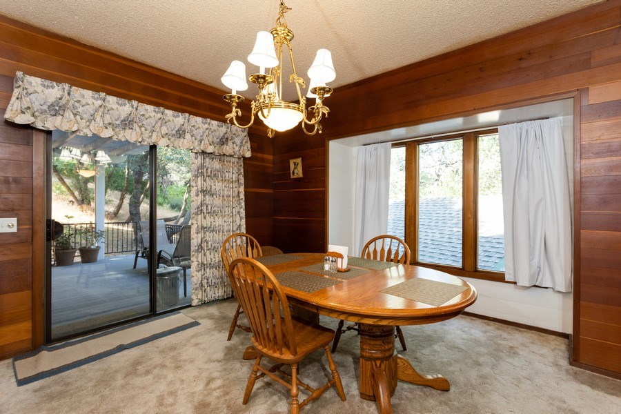 Real Estate Photography - 12521 Incline Drive, Auburn, CA, 95603 - Dining Room