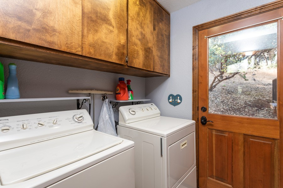 Real Estate Photography - 12521 Incline Drive, Auburn, CA, 95603 - Laundry Room