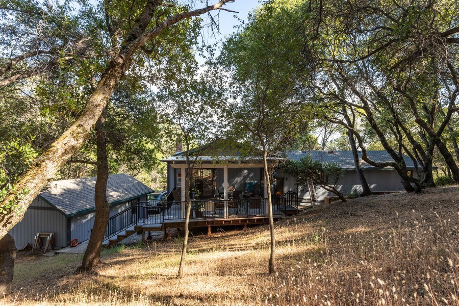 Real Estate Photography - 12521 Incline Drive, Auburn, CA, 95603 - Rear View