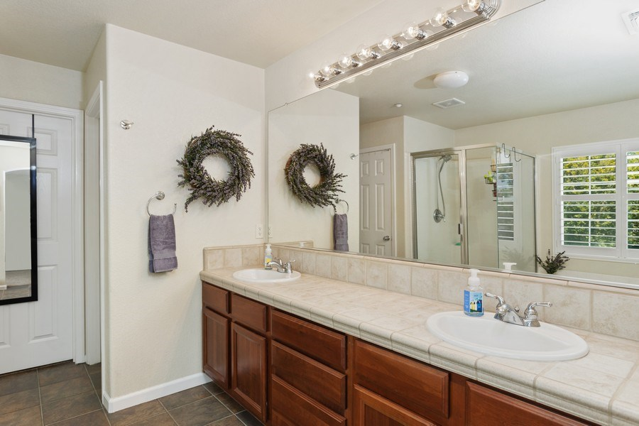 Real Estate Photography - 760 Elston Circle, Woodland, CA, 95776 - Master Bathroom