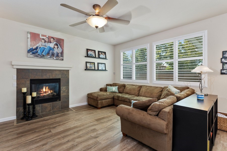 Real Estate Photography - 760 Elston Circle, Woodland, CA, 95776 - Family Room