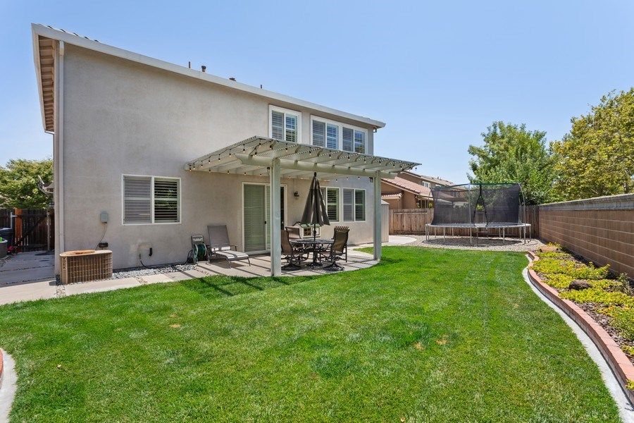 Real Estate Photography - 760 Elston Circle, Woodland, CA, 95776 - Rear View