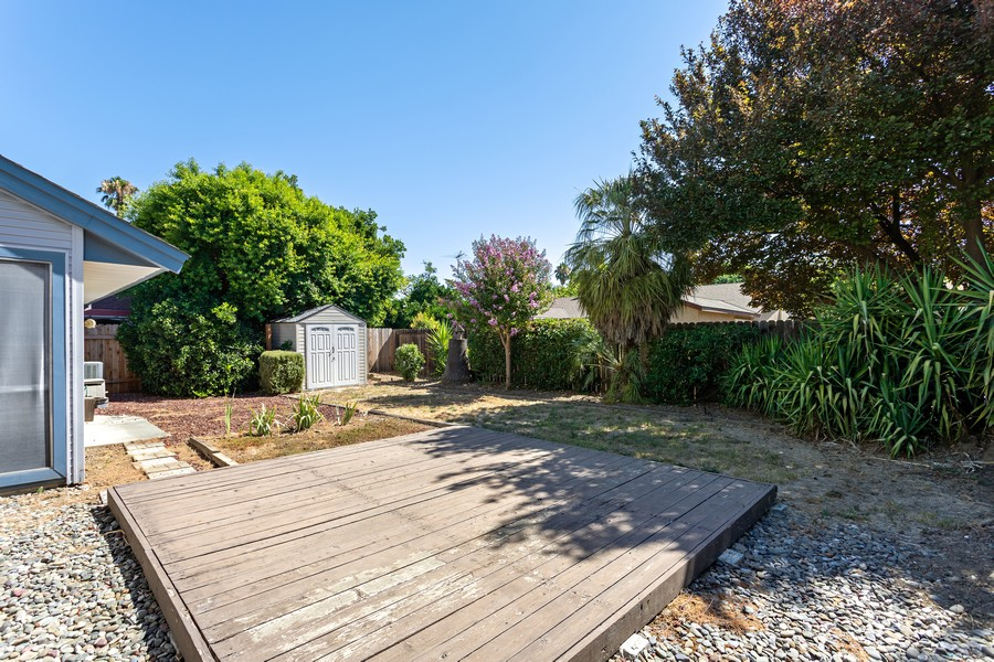 Real Estate Photography - 812 Donovan Court, Davis, CA, 95618 - Back Yard