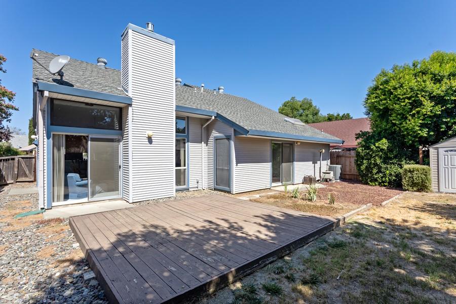 Real Estate Photography - 812 Donovan Court, Davis, CA, 95618 - Rear View