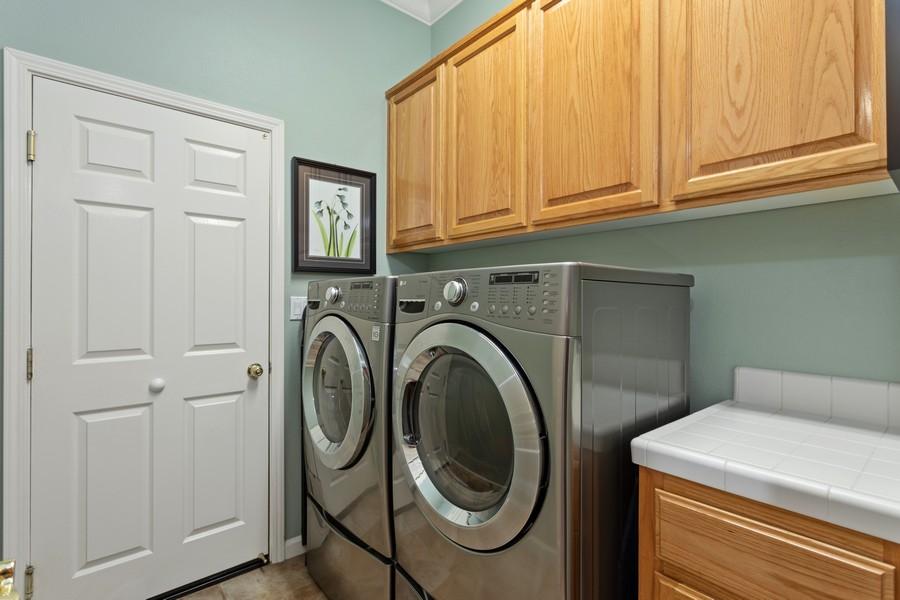 Real Estate Photography - 1809 San Carlos Cir, Roseville, CA, 95747 - Laundry Room