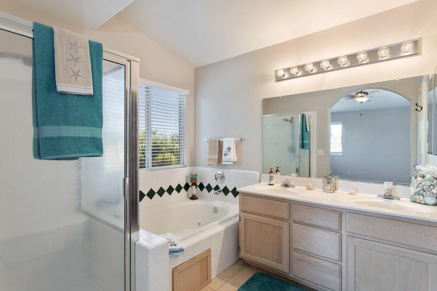 Real Estate Photography - 8438 Patmon Dr, Elk Grove, CA, 95624 - Master Bathroom