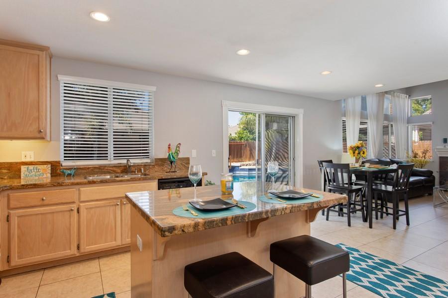 Real Estate Photography - 8438 Patmon Dr, Elk Grove, CA, 95624 - Kitchen