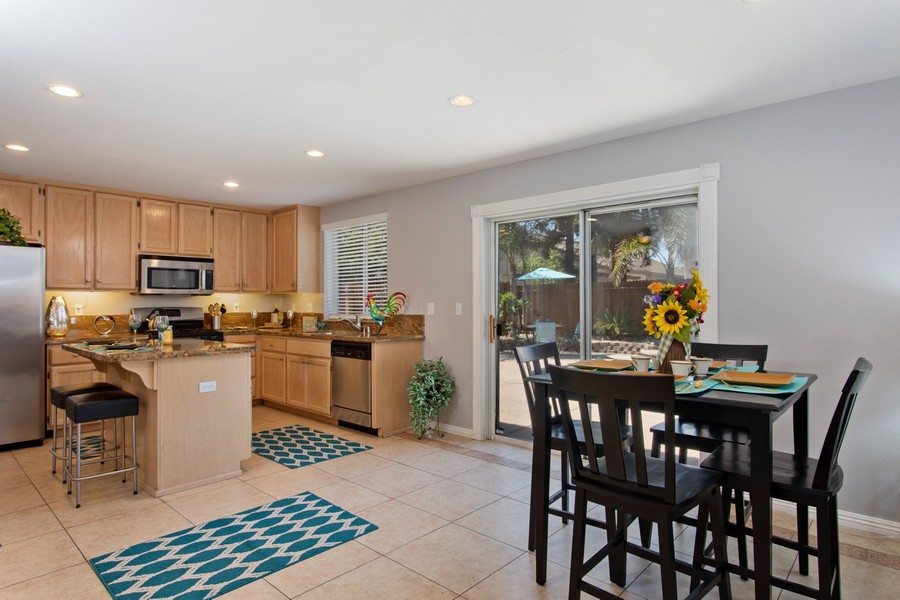 Real Estate Photography - 8438 Patmon Dr, Elk Grove, CA, 95624 - Kitchen / Breakfast Room