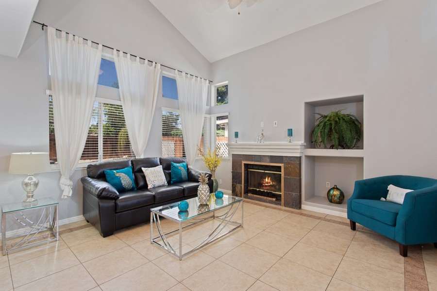 Real Estate Photography - 8438 Patmon Dr, Elk Grove, CA, 95624 - Family Room