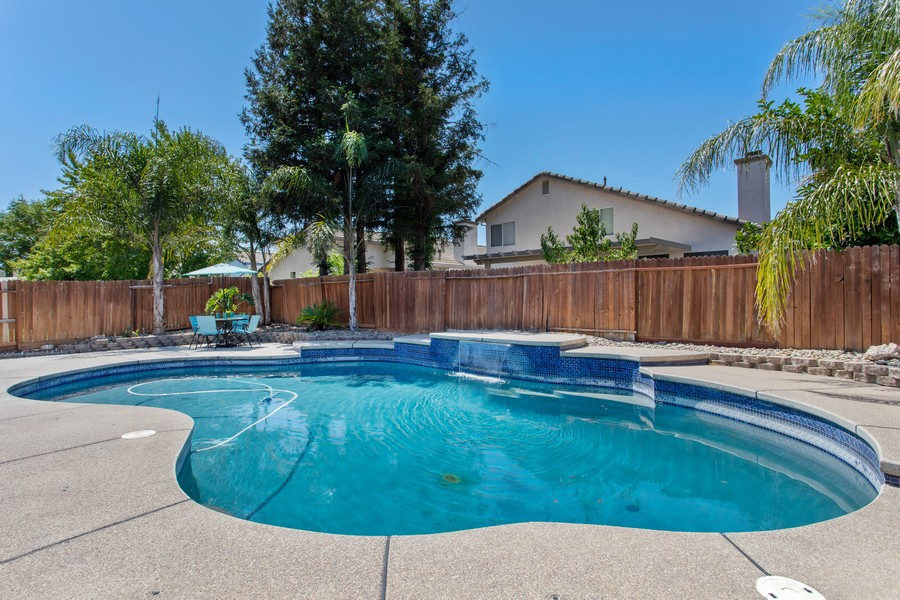 Real Estate Photography - 8438 Patmon Dr, Elk Grove, CA, 95624 - Pool