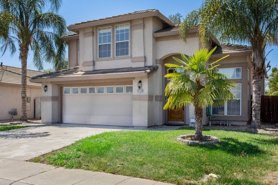 Real Estate Photography - 8438 Patmon Dr, Elk Grove, CA, 95624 - Front View