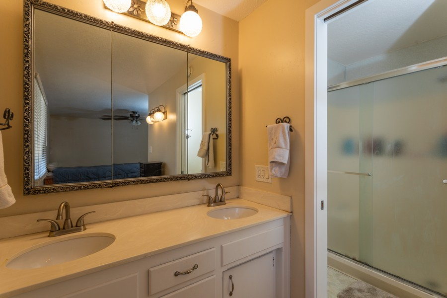 Real Estate Photography - 645 M Street, Lincoln, CA, 95648 - Master Bathroom