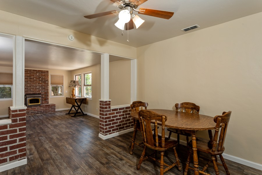 Real Estate Photography - 645 M Street, Lincoln, CA, 95648 - Family Room / Dining Room
