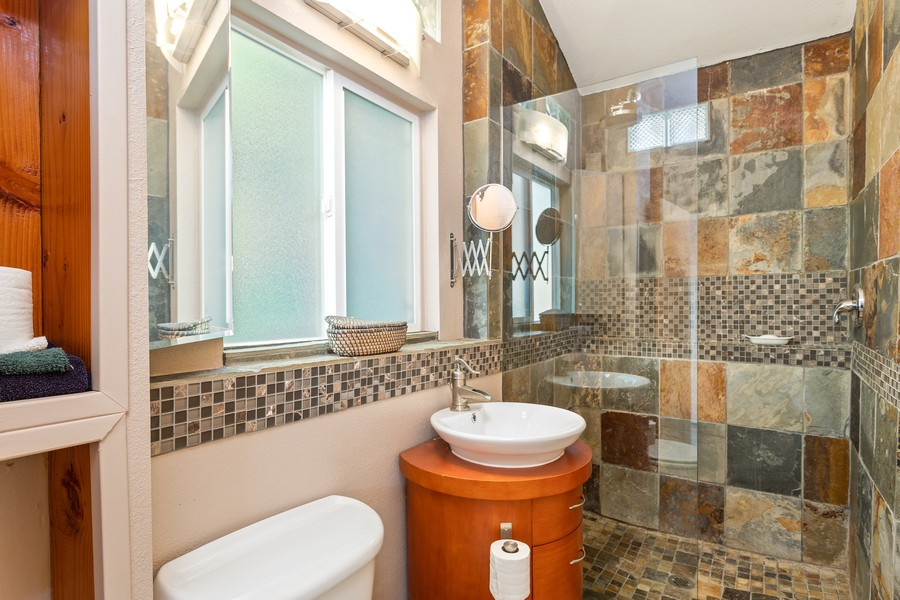 Real Estate Photography - 990 Auburn Ravine Rd, Auburn, CA, 95603 - Guest House Bathroom