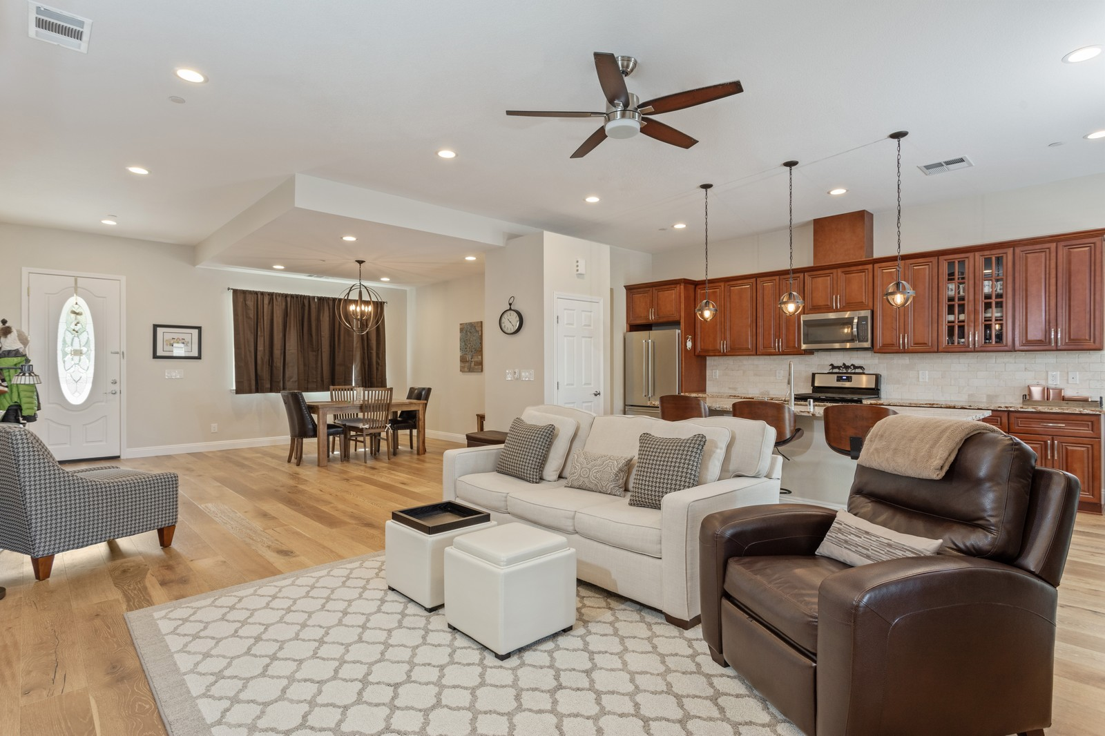 Real Estate Photography - 3205 Oxford Road, Cameron Park, CA, 95682 - Living Room