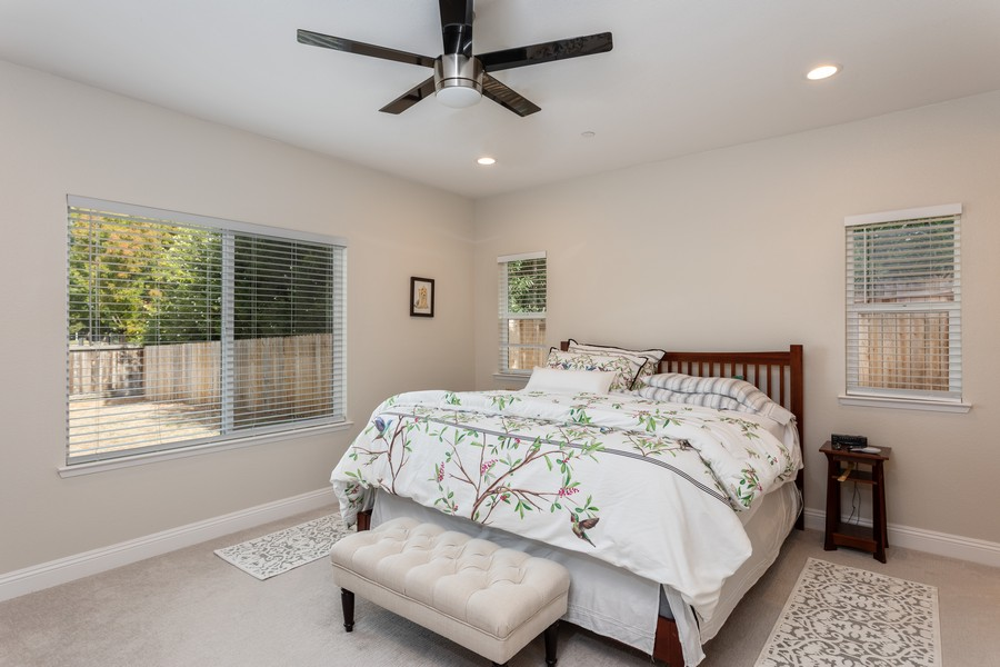 Real Estate Photography - 3205 Oxford Road, Cameron Park, CA, 95682 - Master Bedroom