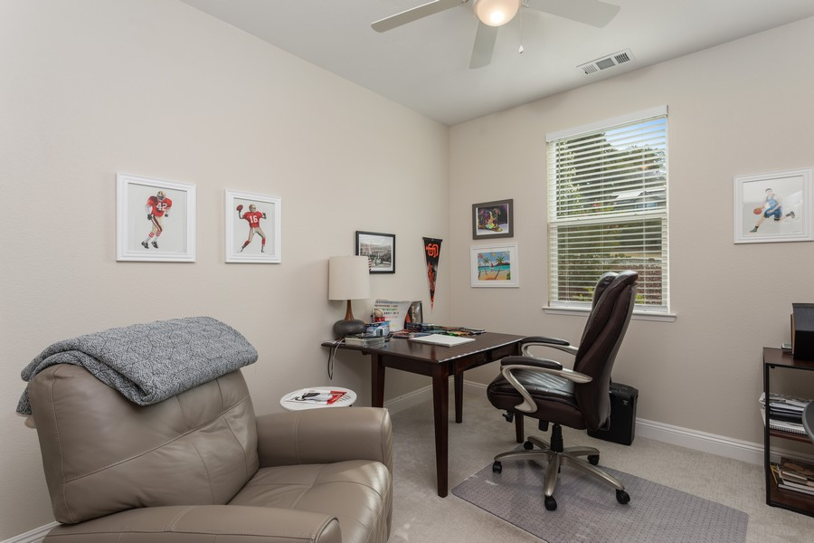 Real Estate Photography - 3205 Oxford Road, Cameron Park, CA, 95682 - Office