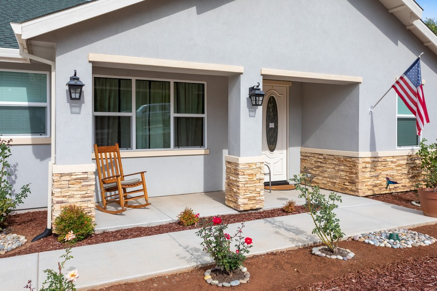 Real Estate Photography - 3205 Oxford Road, Cameron Park, CA, 95682 - Porch