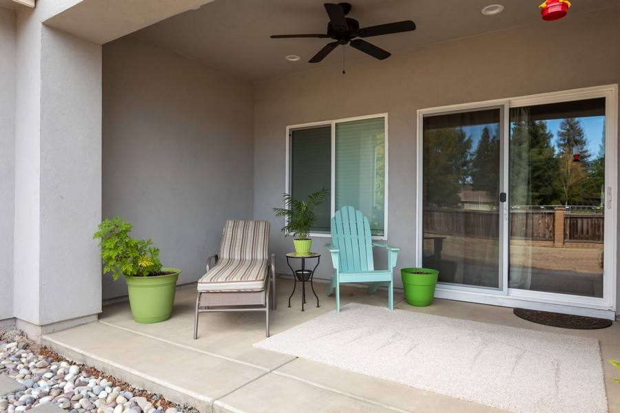 Real Estate Photography - 3205 Oxford Road, Cameron Park, CA, 95682 - Patio