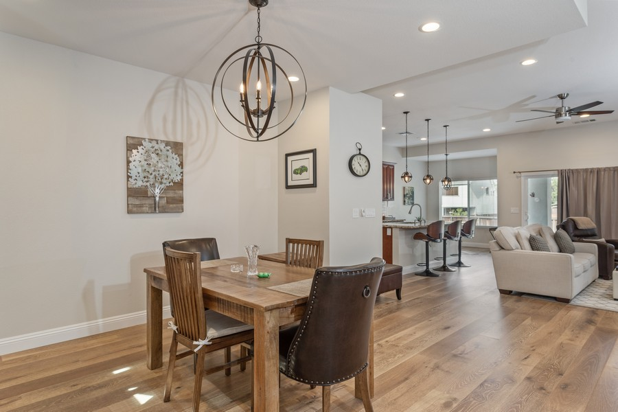 Real Estate Photography - 3205 Oxford Road, Cameron Park, CA, 95682 - Living Room / Dining Room