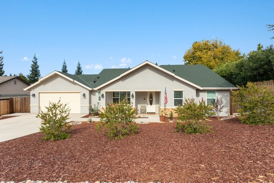 Real Estate Photography - 3205 Oxford Road, Cameron Park, CA, 95682 - Front View