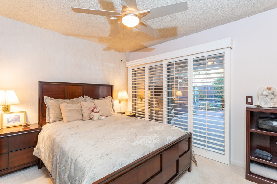 Real Estate Photography - 7220 Roca Way, Sacramento, CA, 95842 - Master Bedroom