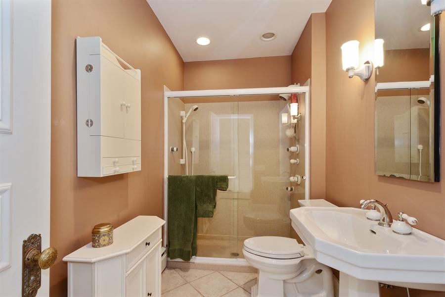 Real Estate Photography - 32 Oak Knoll Road, Barrington Hills, IL, 60010 - 3rd Bathroom