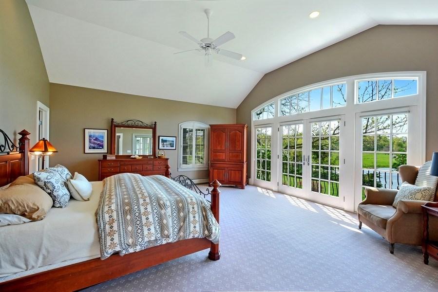 Real Estate Photography - 32 Oak Knoll Road, Barrington Hills, IL, 60010 - Master Bedroom