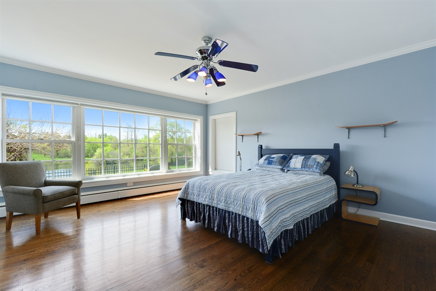 Real Estate Photography - 32 Oak Knoll Road, Barrington Hills, IL, 60010 - 2nd Bedroom