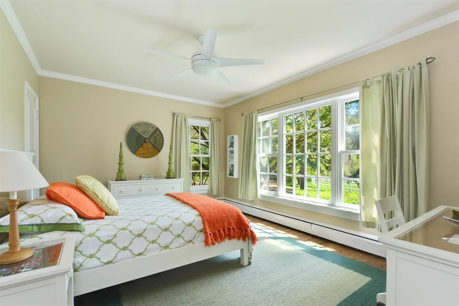 Real Estate Photography - 32 Oak Knoll Road, Barrington Hills, IL, 60010 - 3rd Bedroom