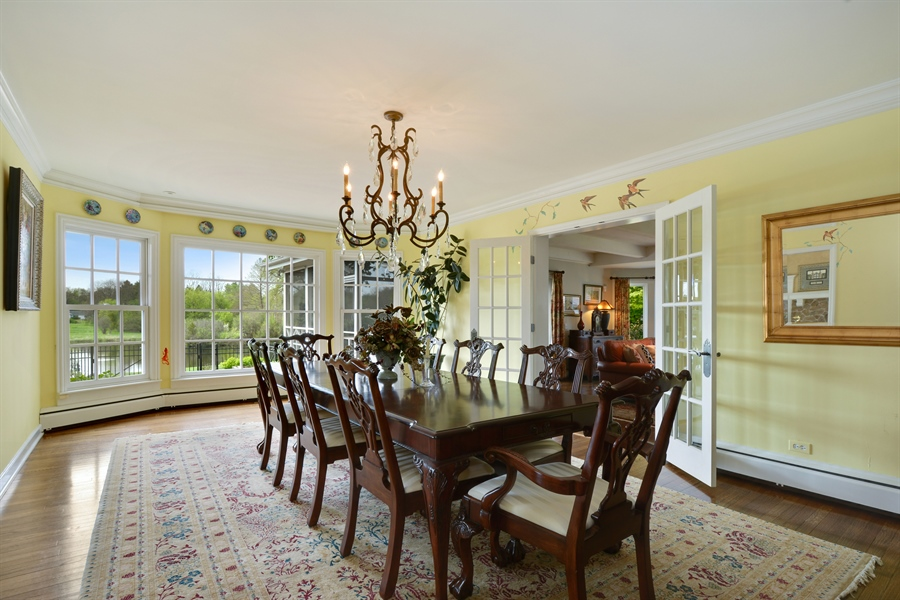 Real Estate Photography - 32 Oak Knoll Road, Barrington Hills, IL, 60010 - Dining Room
