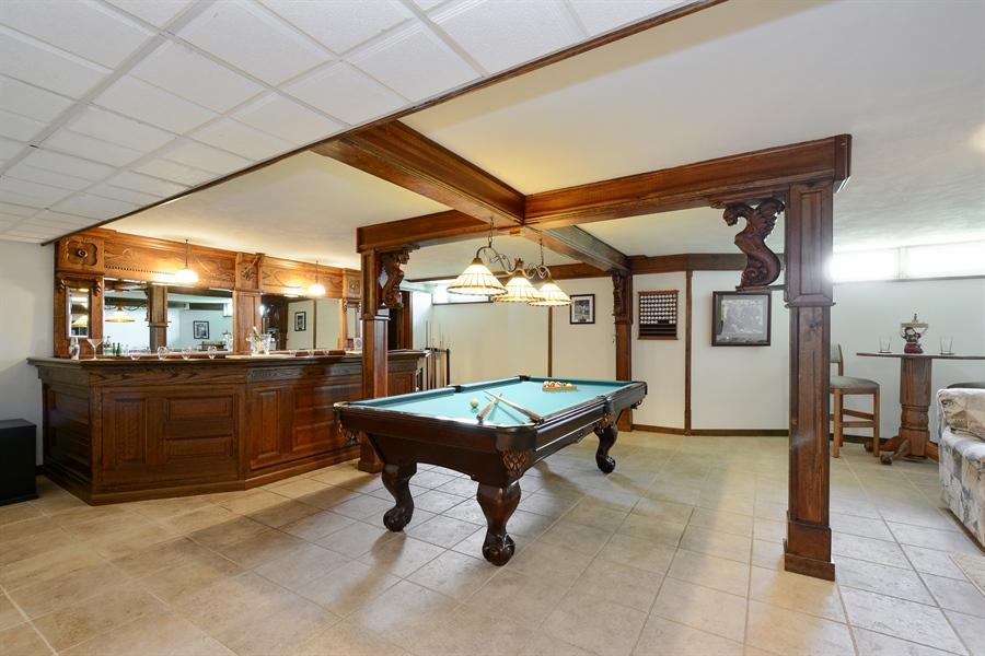 Real Estate Photography - 32 Oak Knoll Road, Barrington Hills, IL, 60010 - Rec Room