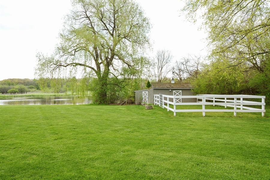 Real Estate Photography - 32 Oak Knoll Road, Barrington Hills, IL, 60010 - Barn