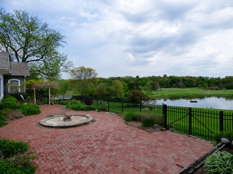 Real Estate Photography - 32 Oak Knoll Road, Barrington Hills, IL, 60010 - Patio