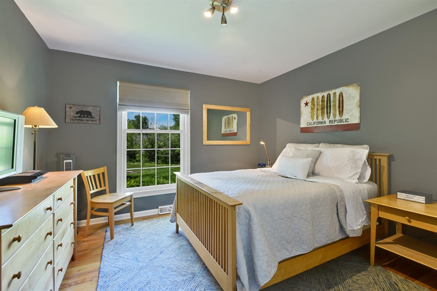 Real Estate Photography - 630 Elm Road, Barrington, IL, 60010 - 2nd Bedroom