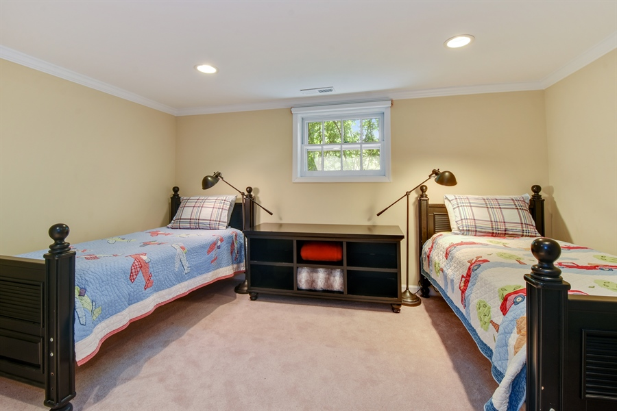 Real Estate Photography - 630 Elm Road, Barrington, IL, 60010 - Office or 6th Bedroom