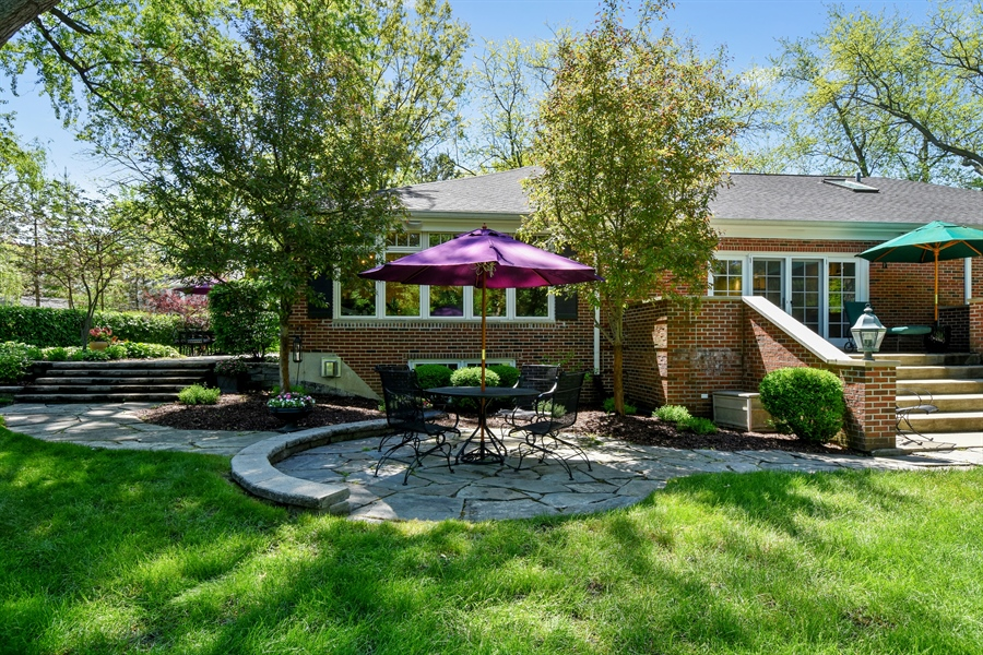 Real Estate Photography - 630 Elm Road, Barrington, IL, 60010 - Rear Patio